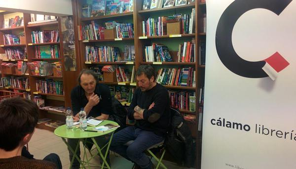 Eduardo Iglesias y Ray Loriga presentaron «Los Elegidos» en Zaragoza